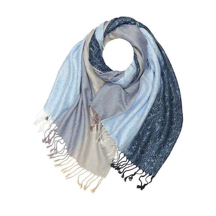 Ombre Paisley Reversible Pashmina (MORE COLOURS AVAILABLE)