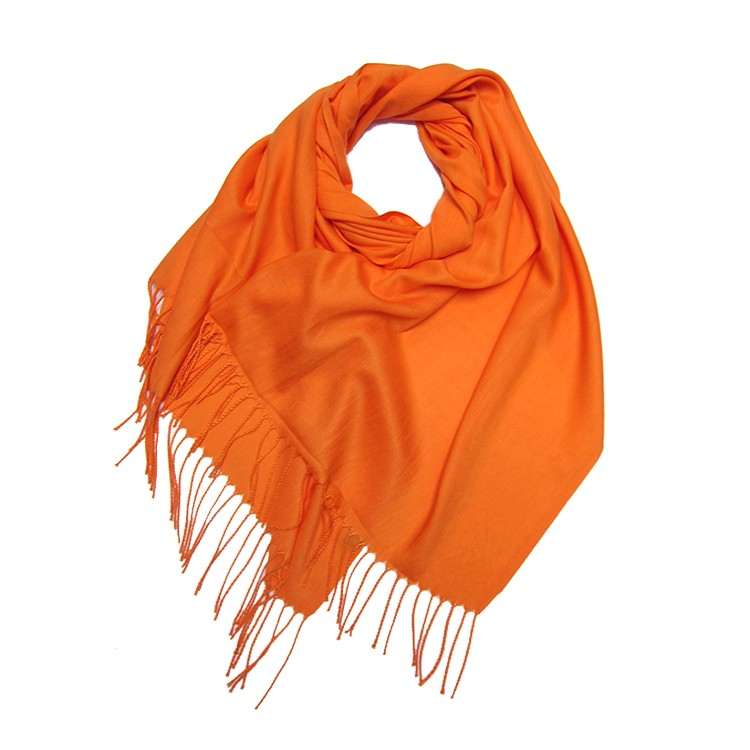 Plain Light Pashmina Large Scarf (MORE COLOURS AVAILABLE)