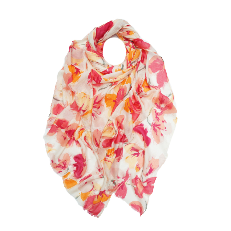 Floral Print Large Scarf (MORE COLOURS AVAILABLE)