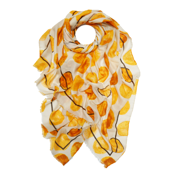 Polka Dots Print Large Scarf (MORE COLOURS AVAILABLE)