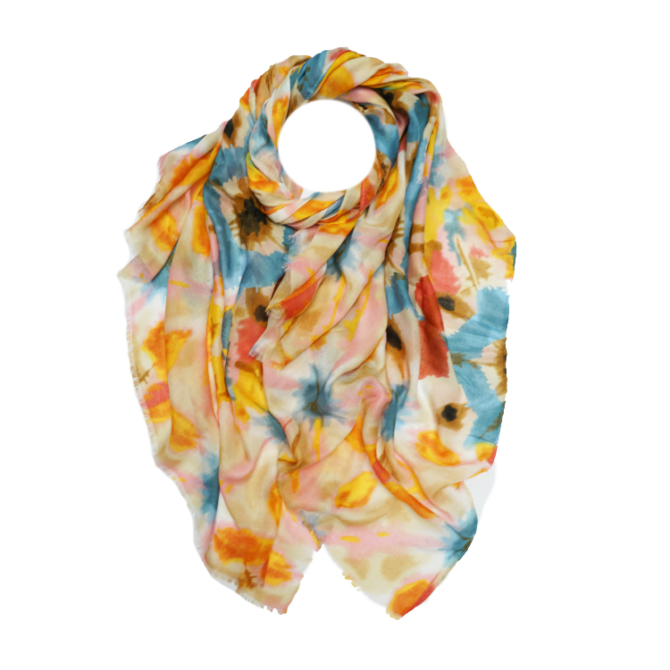 Tie Dye Print Large Scarf (MORE COLOURS AVAILABLE)