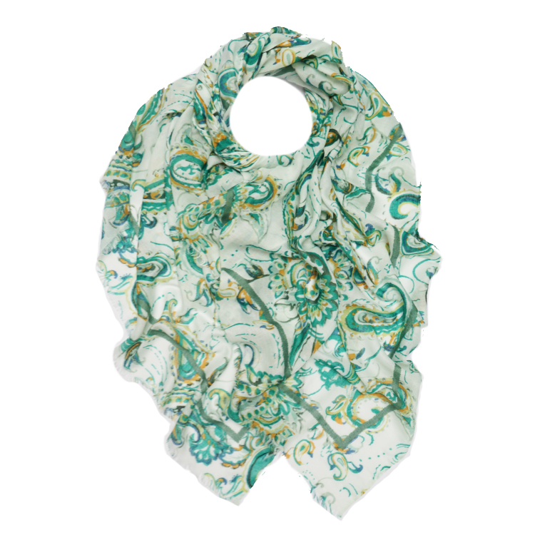 Paisley Print Large Scarf (MORE COLOURS AVAILABLE)
