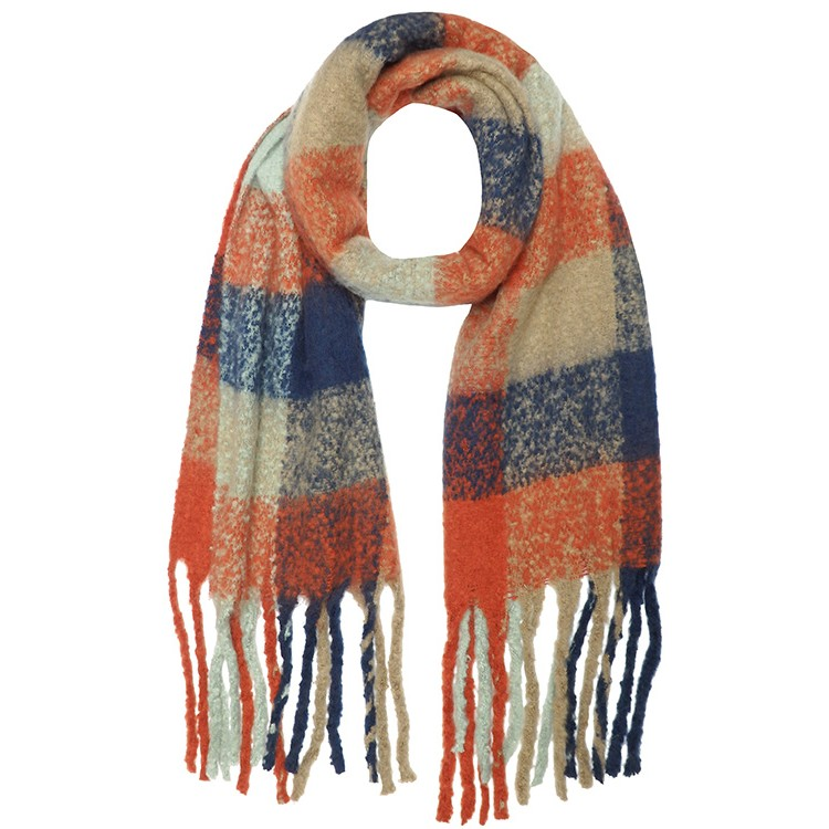 Fluffy Check Winter Soft Thick Scarf (MORE COLOURS AVAILABLE)